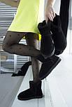 Австралийские угги женские UGG Australia Classic Mini черные. Живое фото. Реплика, фото 8