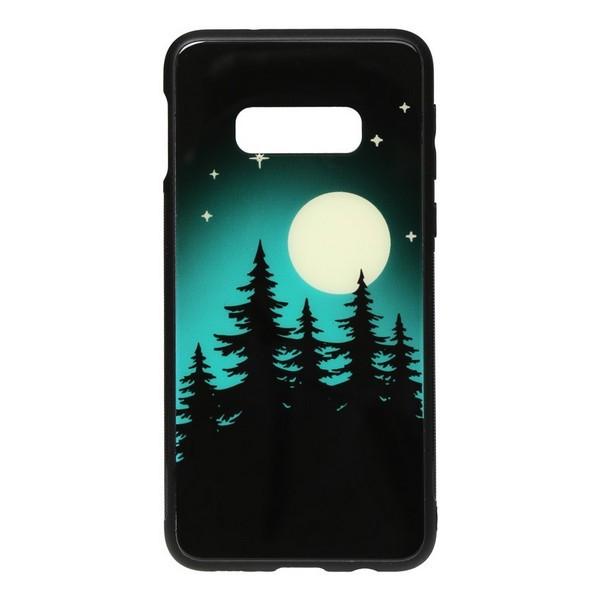 Накладка для Samsung Galaxy G970 S10e TOTO Night Light Print Glass Case Moon