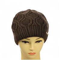 """Женская двухслойная шапка  """"Нина"""", фото 1"""
