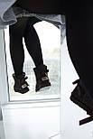 Австралийские угги женские UGG Australia Mini Bailey Bow с бантом шоколадные 36-40. Живое фото. Реплика, фото 4