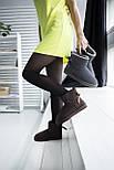 Австралийские угги женские UGG Australia Mini Bailey Bow с бантом шоколадные 36-40. Живое фото. Реплика, фото 10