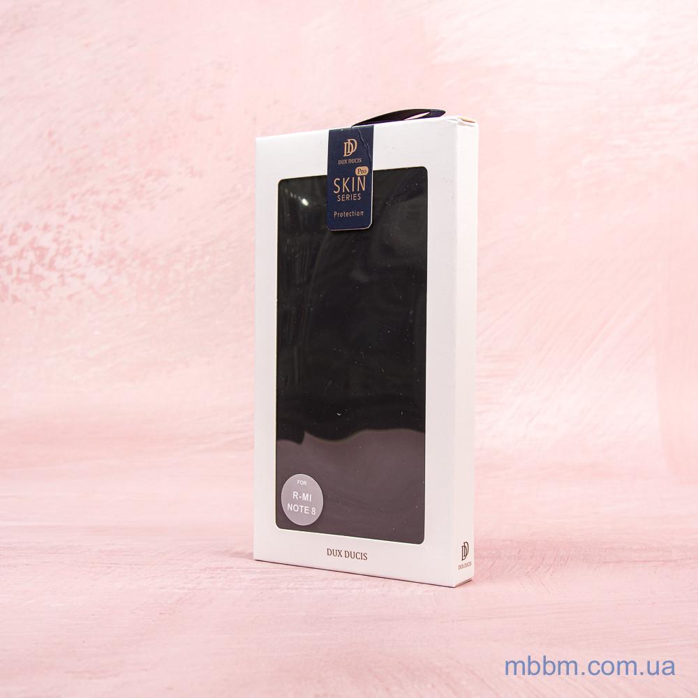 Dux Ducis с визитницей Xiaomi Redmi Note 8 Black Черный