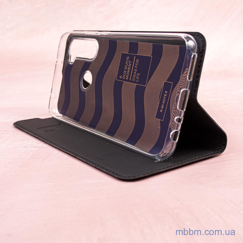 Чехлы для Xiaomi Redmi Note 8 Dux Ducis с визитницей Black Черный