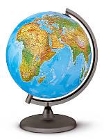 Глобус с подсветкой 30см диаметр.Итальянский глобус українською мовою. Глобус настольный.