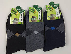 Махровые носки мужские Бамбук 41-47 Ян&Яна (от 12 шт)