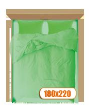 Двуспальный комплект белья с простыней 180х220