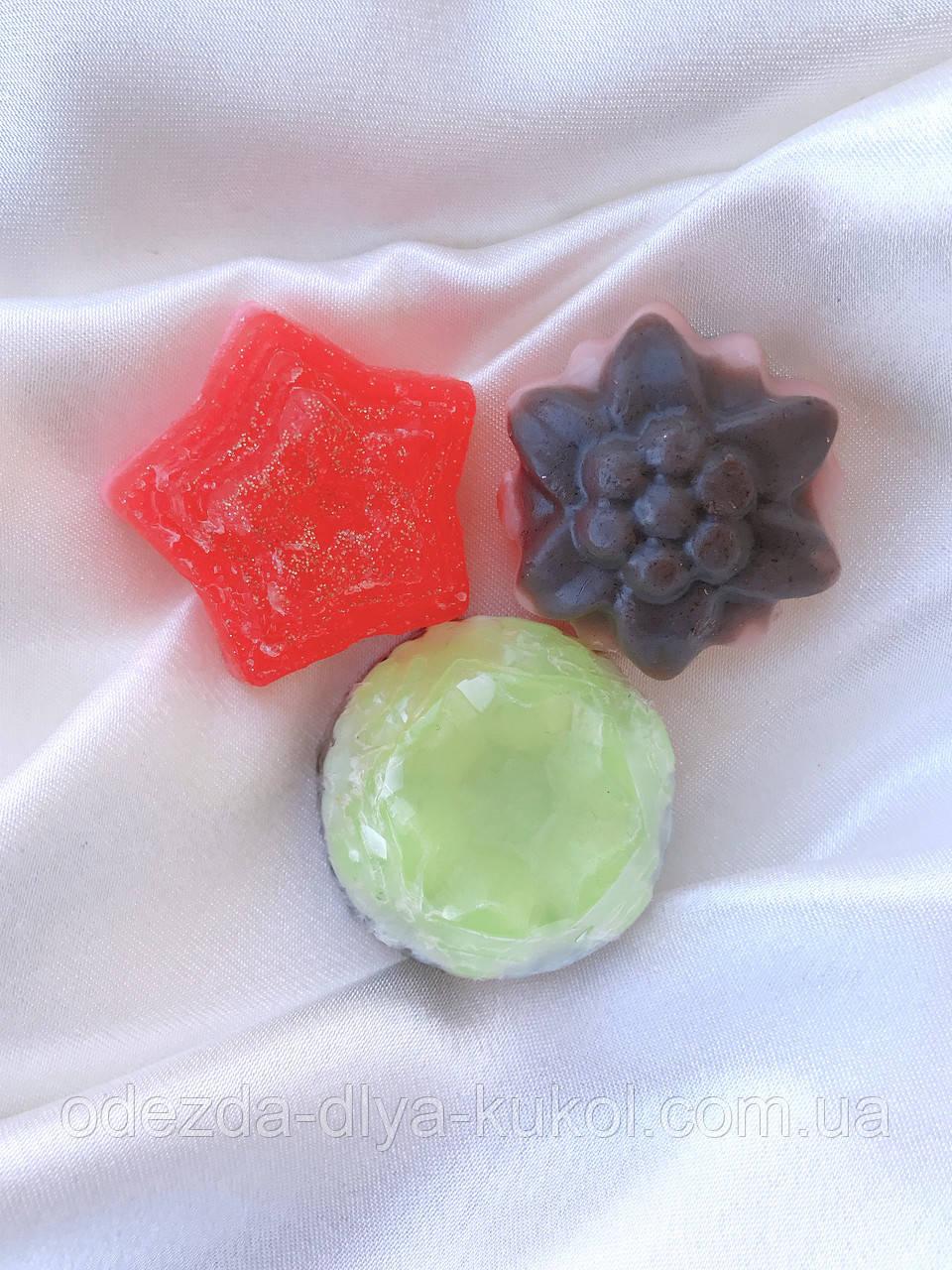 Мыло ручной работы - набор из 3 штук
