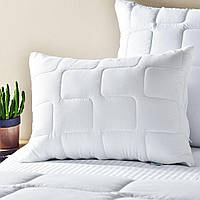 Подушка 50х70 Lux ,стеганый чехол на молнии + внутренняя подушка