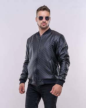 Мужская куртка из эко-кожи, фото 2