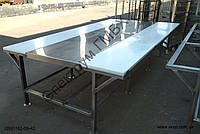 Усиленный обвалочный стол из нержавеющей стали, фото 1