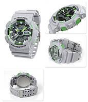 Водонепроницаемые наручные часы Casio G-Shock GA110TS GREEN GREY реплика