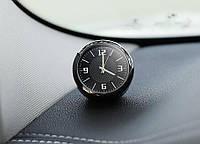Часы кварцевые Автомобильные часы премиум класса корпус МЕТАЛЛИЧЕСКИЙ два вида крепления в комплекте