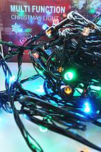 Новогодняя гирлянда на елку светодиодная 100 LED лампочек 7м