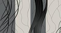 Обои влагостойкие мойка Стрим 140-02 серый