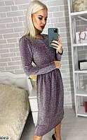 Платье женское нарядное трикотаж - люрекс 42-44,46-48 размеров