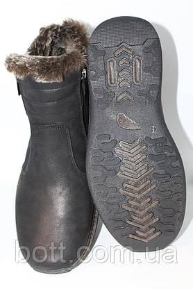 Ботинки мужские зима черные, фото 3