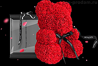 Большой Мишка из роз в 3D Oh My Teddy  40 см высотой