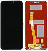 Дисплей (LCD) Huawei P20 Lite Dual Sim (ANE- L21/  ANE- LX1)/  Nova 3e с сенсором синий