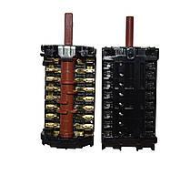 Переключатель GOTTAK 870701К 16А/250V/400V/т150 семипозиционный