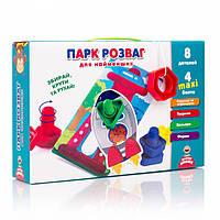 """Настольная игра для детей с болтами """"Парк развлечений"""" для самых маленьких VT2905-04 (укр)"""