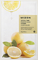 Увлажняющая тканевая маска для лица Mizon Joyful Time Essence Mask Витамин C, фото 1
