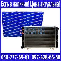 Радиатор охлаждения Газель нового образца (2 рядный алюминиевый) (Авто Престиж)