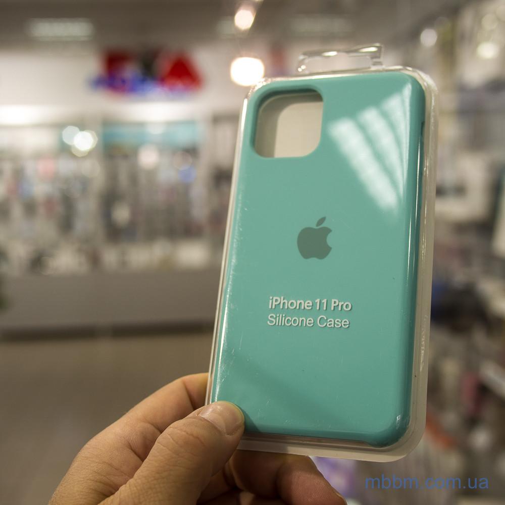 Накладка Apple Silicone Case iPhone 11 Pro Turquoise Бирюзовый