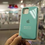 "Накладка Apple Silicone Case iPhone 11 Pro {5.8""} Turquoise [копия], фото 2"