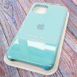 "Накладка Apple Silicone Case iPhone 11 Pro {5.8""} Turquoise [копия], фото 5"