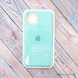 "Накладка Apple Silicone Case iPhone 11 Pro {5.8""} Turquoise [копия], фото 4"