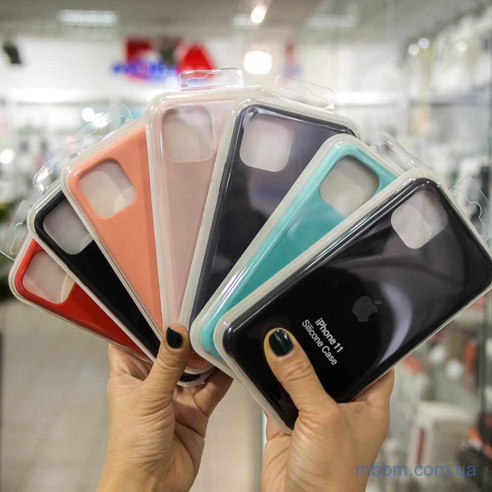 """Накладка Apple Silicone Case iPhone 11 Pro {5.8""""} Turquoise [копия]"""