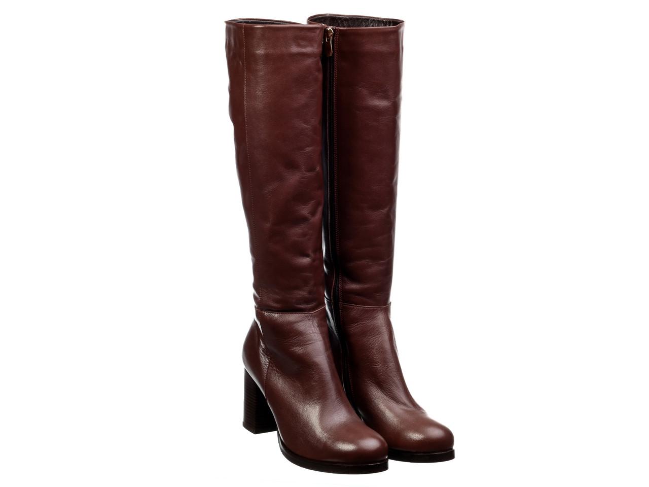 Сапоги Etor 5753-012-10103 коричневые