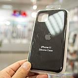 "Накладка Apple Silicone Case iPhone 11 {6.1""} Black [копия], фото 2"