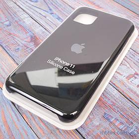"Накладка Apple Silicone Case iPhone 11 {6.1 ""} Black [копія]"
