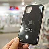"Накладка Apple Silicone Case iPhone 11 {6.1""} Black [копия], фото 3"