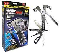 Мультитул BellHowell Tac Tool  18 предметов