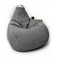 Кресло груша рогожка Съёмный чехол, фото 1