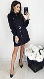 Платье / замш на дайвинге / Украина 13-221, фото 6