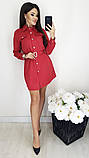 Платье / замш на дайвинге / Украина 13-221, фото 8