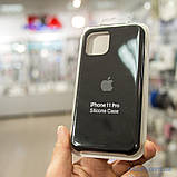 "Накладка Apple Silicone Case iPhone 11 Pro {5.8 ""} Black [копія], фото 2"