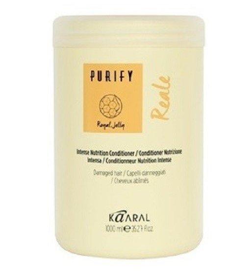 Восстанавливающий кондиционер для поврежденных волос Kaaral Purify Reale Conditioner (разлив) 100 гр