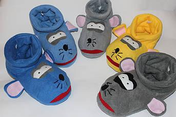 Мужские тапочки - игрушки Мышка Крыса Размер 25 - 45 Символ 2020 года