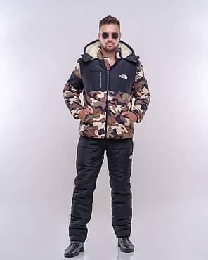 Мужской спортивный костюм с трендовым принтом, фото 2