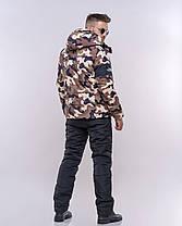 Мужской спортивный костюм с трендовым принтом, фото 3