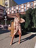 Сукня жіноча шовкове графіт, хакі, шампань, фото 7