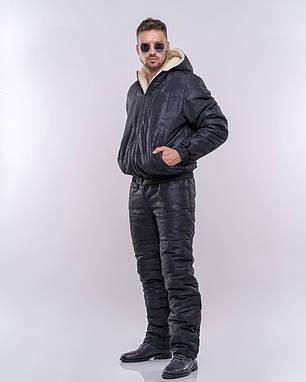 Мужской спортивный костюм на меху, фото 2