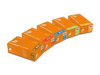 Перчатки диагностические Mercator medical NITRYLEX HIGH RISK оранжевые размер XL