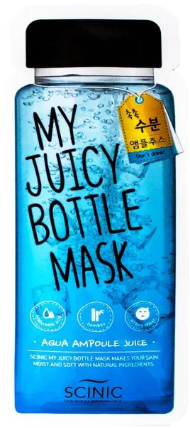 Тканевая маска для лица Scinic My Juicy Bottle Mask Aqua
