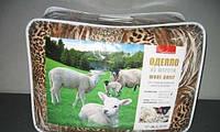 Одеяло закрытое овечья шерсть (Бязь) Двуспальное T-51111