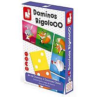 Настольная игра Janod Домино Животные (J02737)